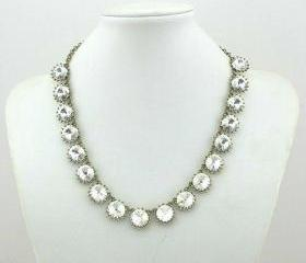 Sale party wedding necklace/gift /statement necklace/Crystal Pearl Necklace/bubble necklace/bib necklace/acrylic necklace 23